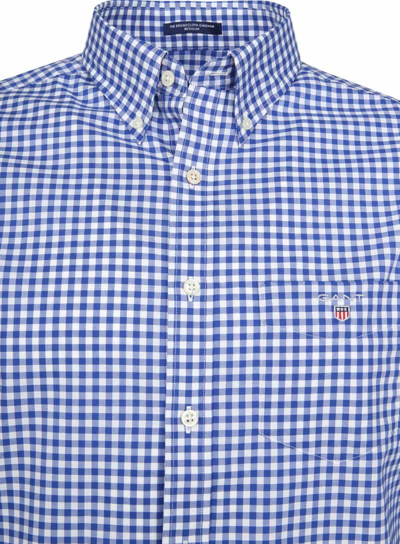 Gant Gingham Shirt Blue Check photo 1