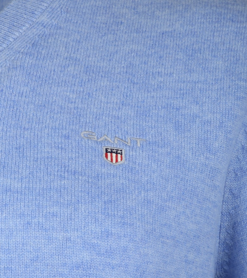 Gant Lambswool Pullover Light Blue photo 2