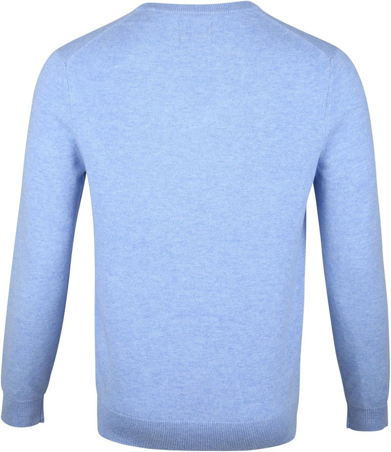 Gant Lambswool Pullover Light Blue photo 3
