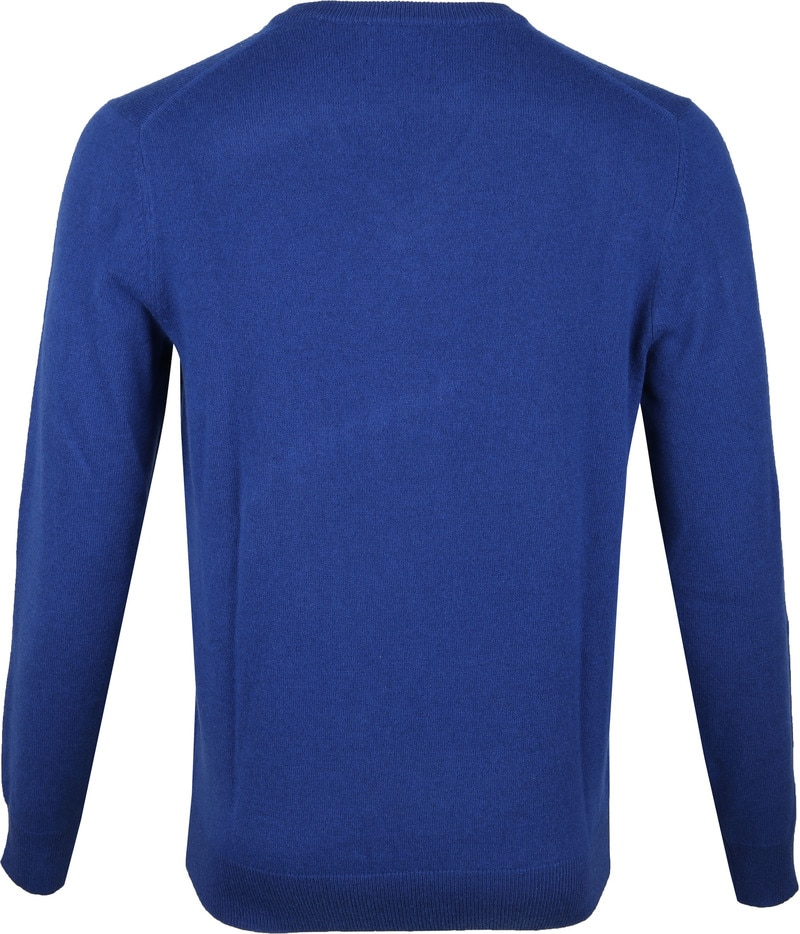 Gant Lamswol Pullover Blauw foto 3