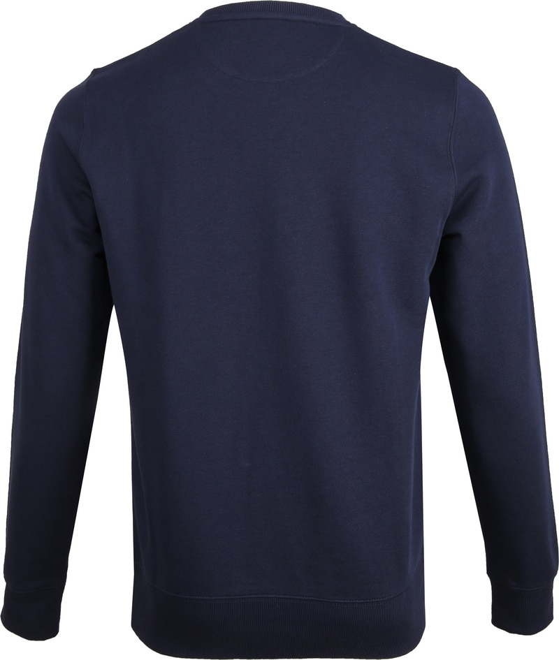 Gant Logo Sweater Navy foto 3
