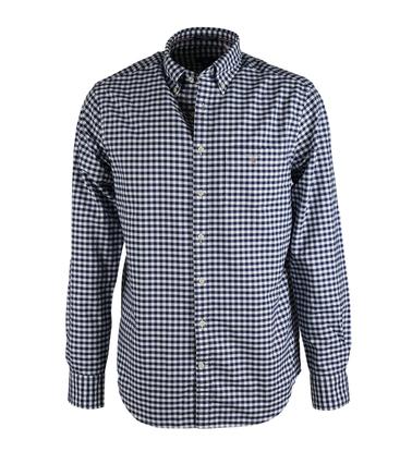 Gant Overhemd Gingham Blauw  online bestellen | Suitable