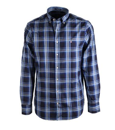 Gant Overhemd Oxford Navy  online bestellen | Suitable