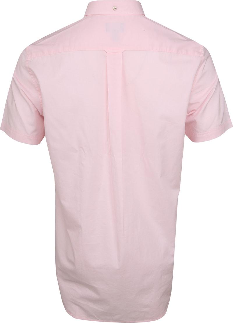 Gant Overhemd SS Broadcloth Roze foto 3