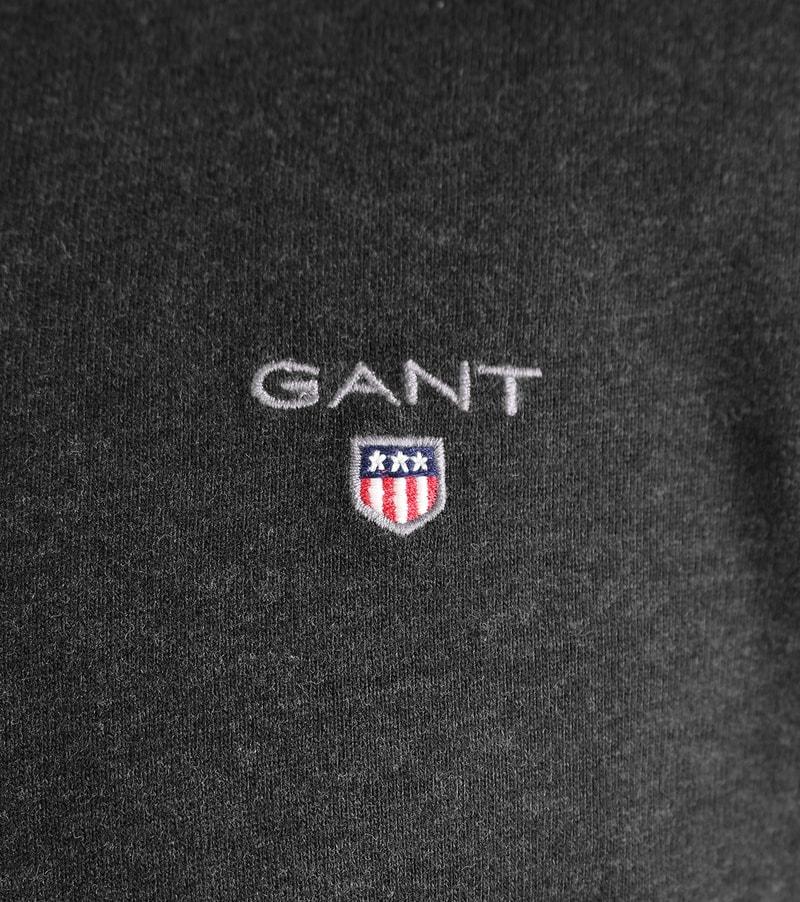 Detail Gant Polo Antraciet