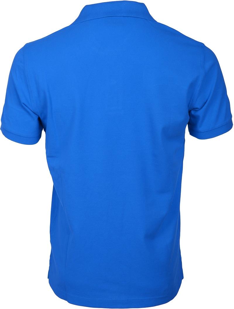 Gant Polo Basic Kobalt Blauw