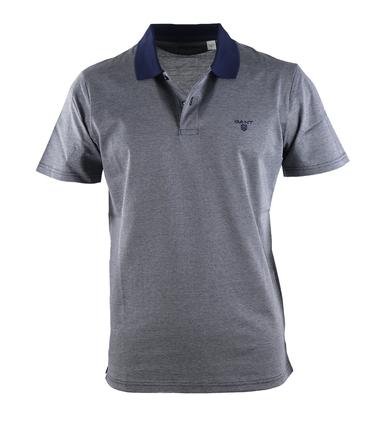 Gant Polo Jacquard Donkerblauw  online bestellen | Suitable