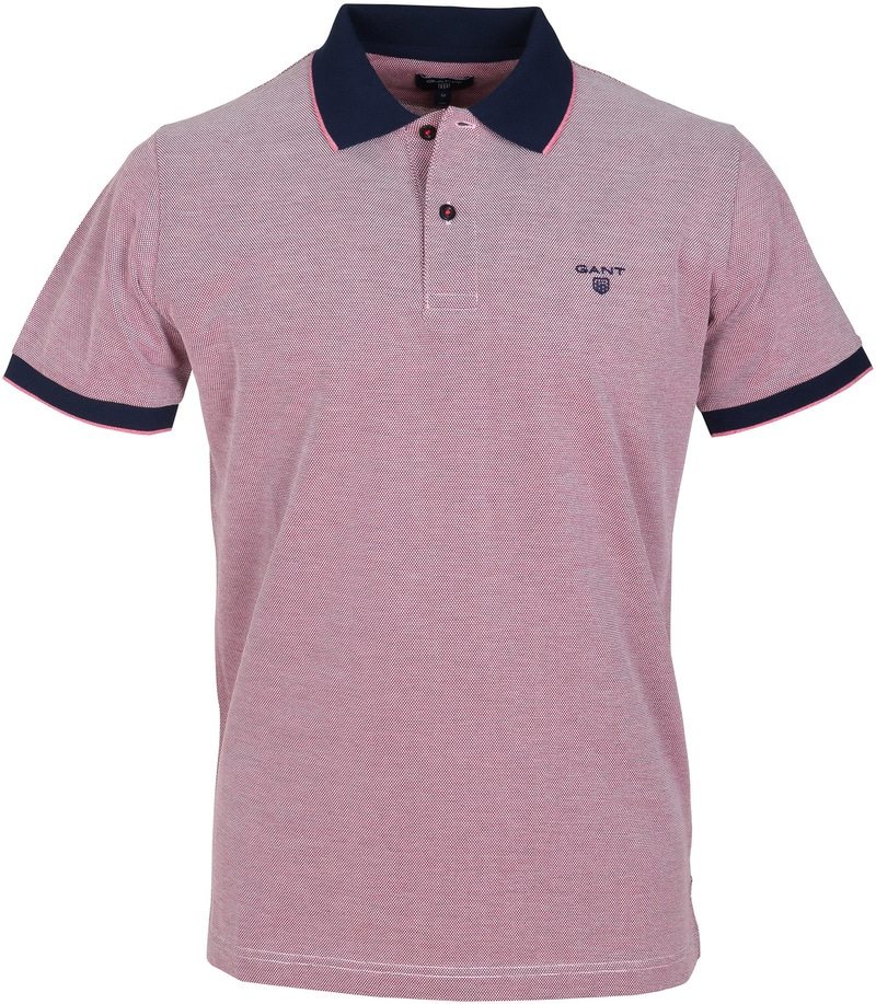 Gant Polo Pique Rood  online bestellen | Suitable