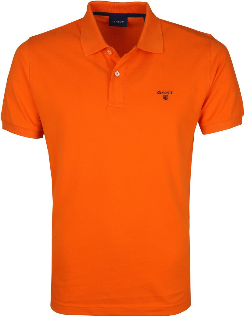 Gant Polo Rugger Oranje foto 0