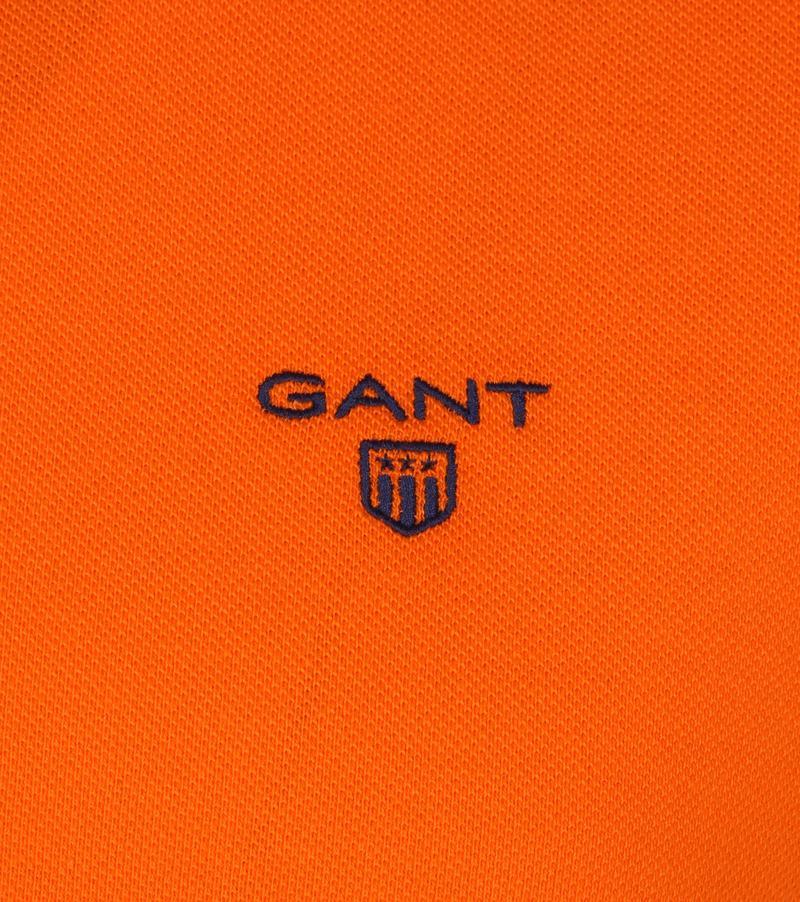 Gant Polo Rugger Oranje foto 1