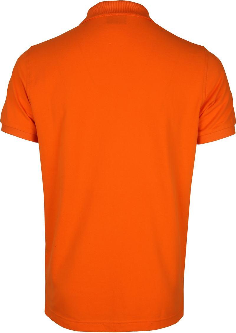 Gant Polo Rugger Oranje foto 2