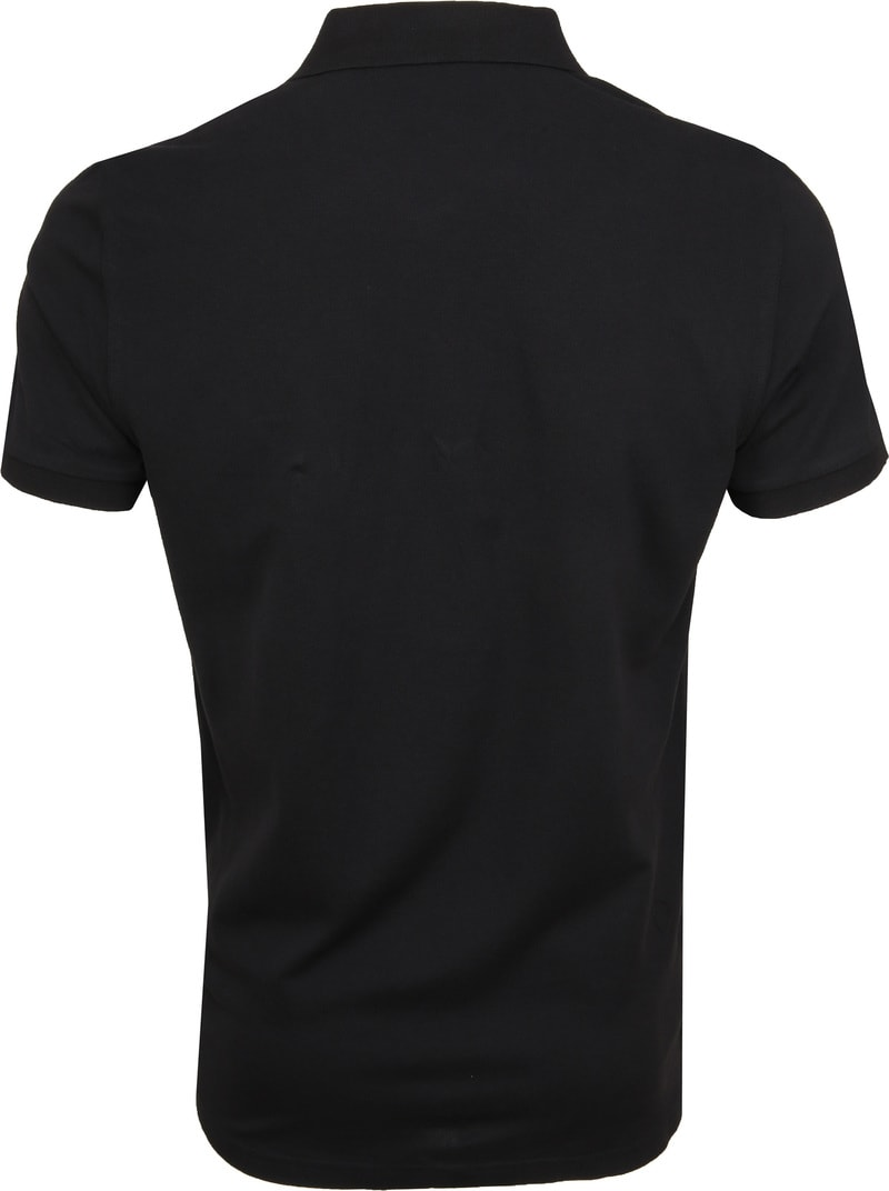 Gant Poloshirt Basic Zwart