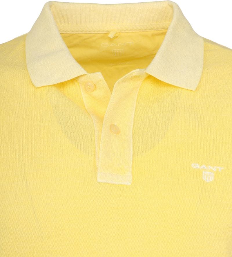 Gant Poloshirt Sunbleached Geel