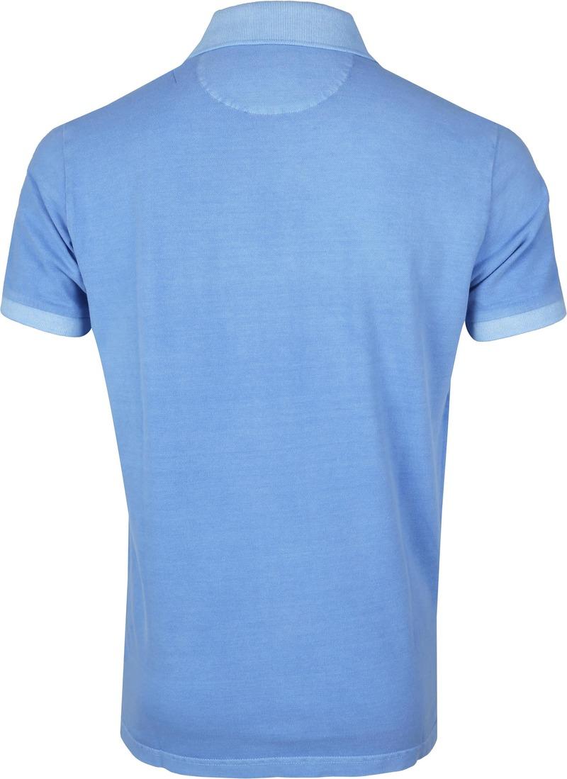 Gant Poloshirt Sunfaded Lichtblauw