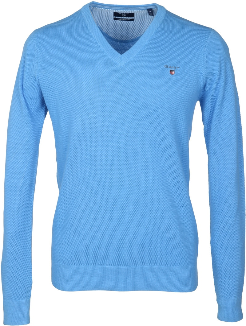 Gant Pullover Blau V-Ausschnitt  online kaufen | Suitable