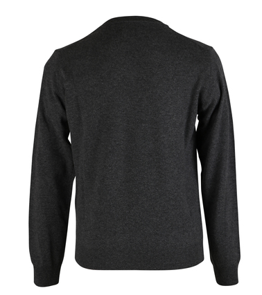 Detail Gant Pullover Lamswol Antraciet