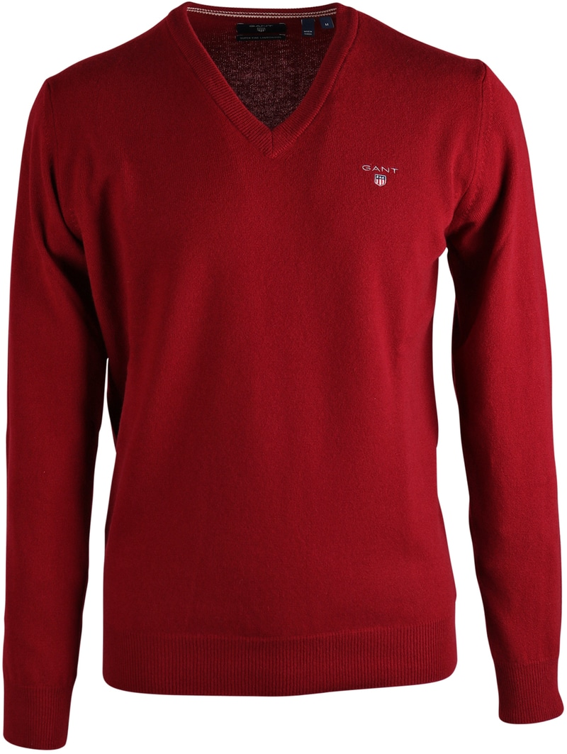 Gant Pullover Lamswol Bordeaux  online bestellen | Suitable