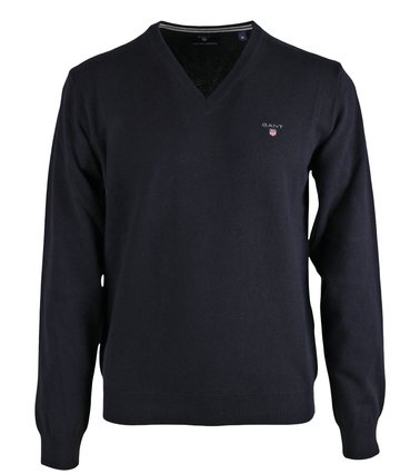 Gant Pullover Lamswol Donkerblauw  online bestellen | Suitable