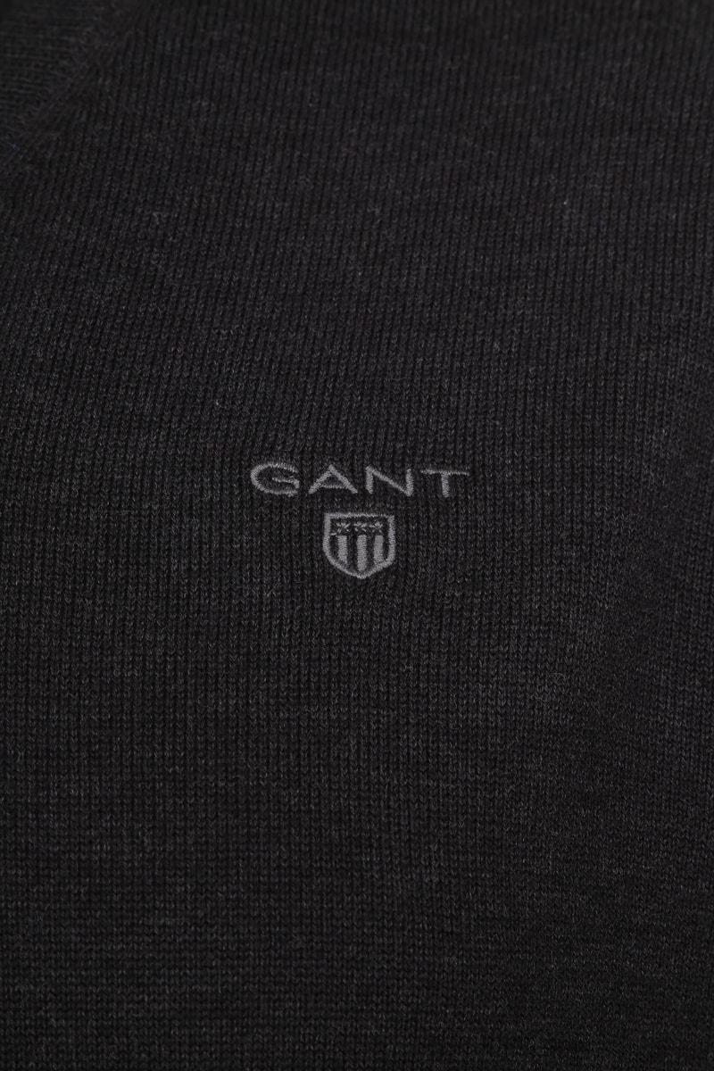 Gant Pullover Premium V-Ausschnitt Dunkelgrau Foto 1