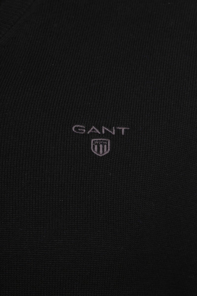 Gant Pullover Premium V-Neck Black photo 1