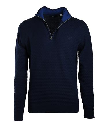 Gant Pullover Zipper Donkerblauw  online bestellen | Suitable