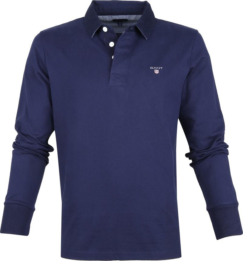 Gant Rugger Poloshirt LS Evening Blue foto 0