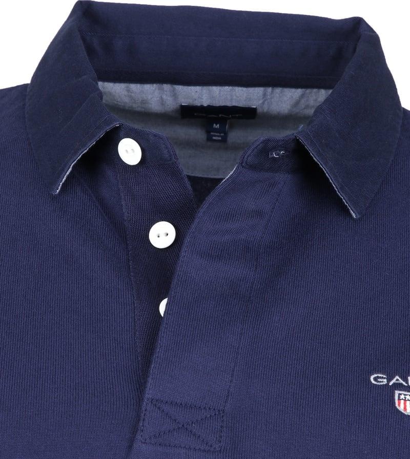 Gant Rugger Poloshirt LS Evening Blue