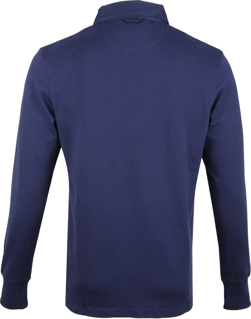 Gant Rugger Poloshirt LS Evening Blue foto 3