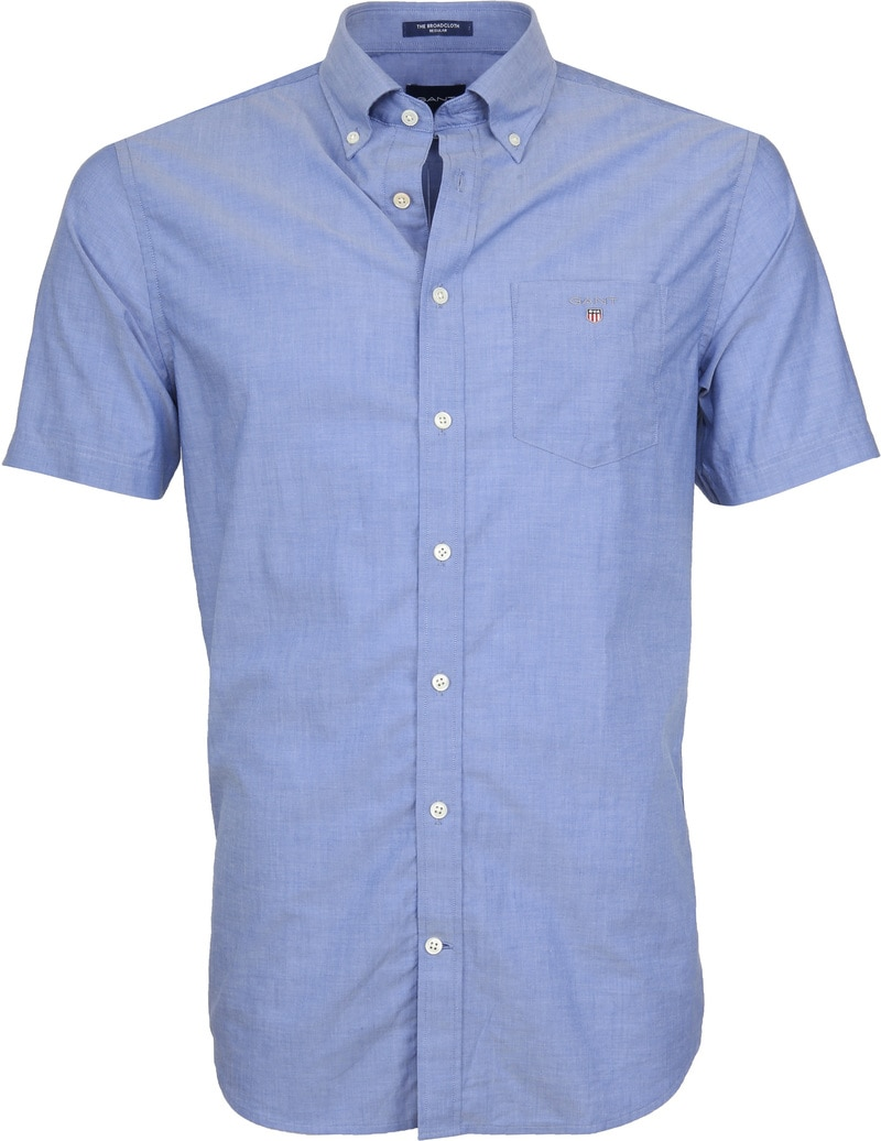 Gant Shirt Broadcloth Blue photo 0