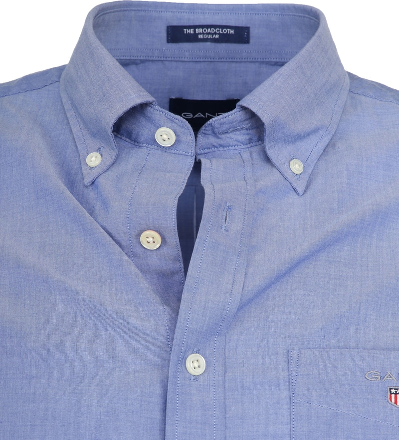 Gant Shirt Broadcloth Blue photo 1
