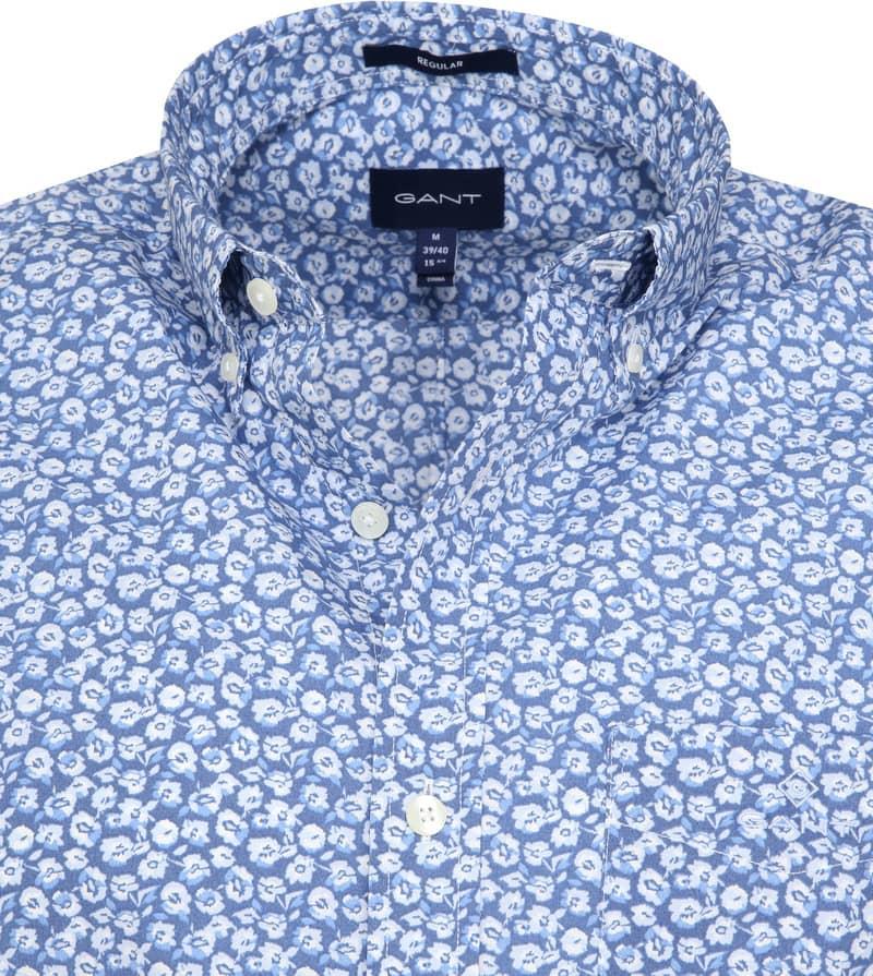 Gant Shirt Flowers Blue photo 1