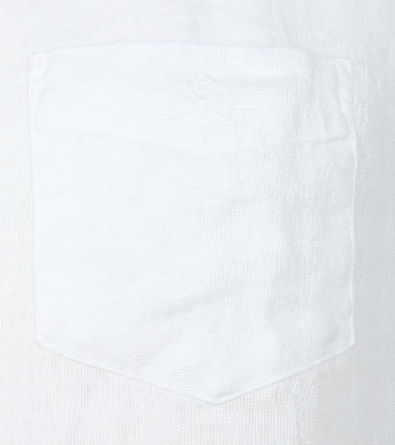 Gant Shirt Linen White photo 2