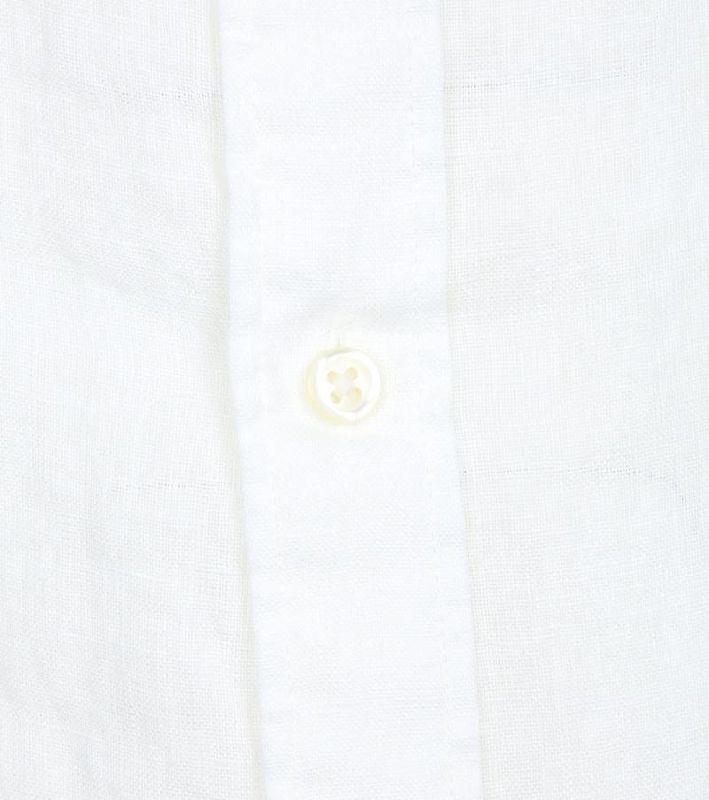 Gant Shirt Linen White photo 3
