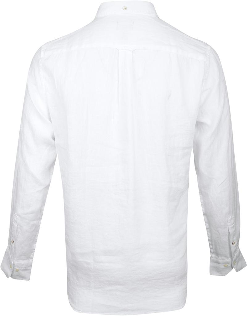 Gant Shirt Linen White photo 4