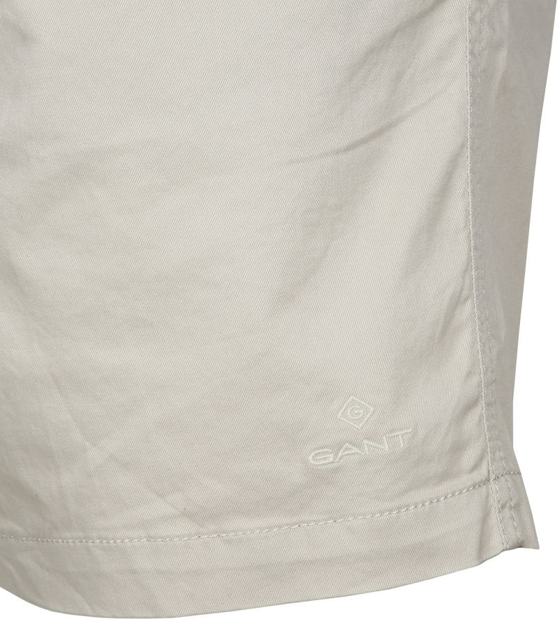 Gant Short Relaxed Beige - Wit maat M