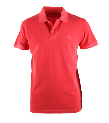 Gant Sunbleached Polo Rood  online bestellen | Suitable