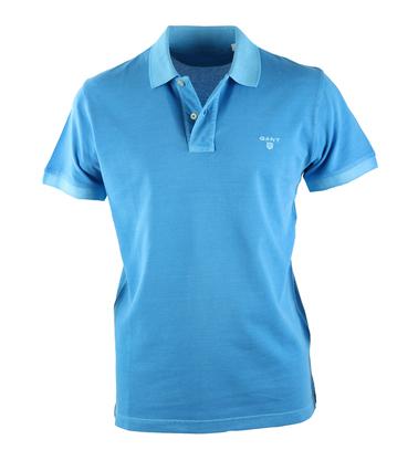 Gant Sunbleached Polo Sharp Blue  online bestellen | Suitable