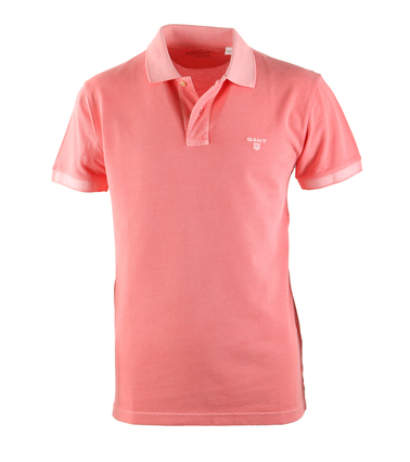 Gant Sunbleached Polo Zalm  online bestellen | Suitable