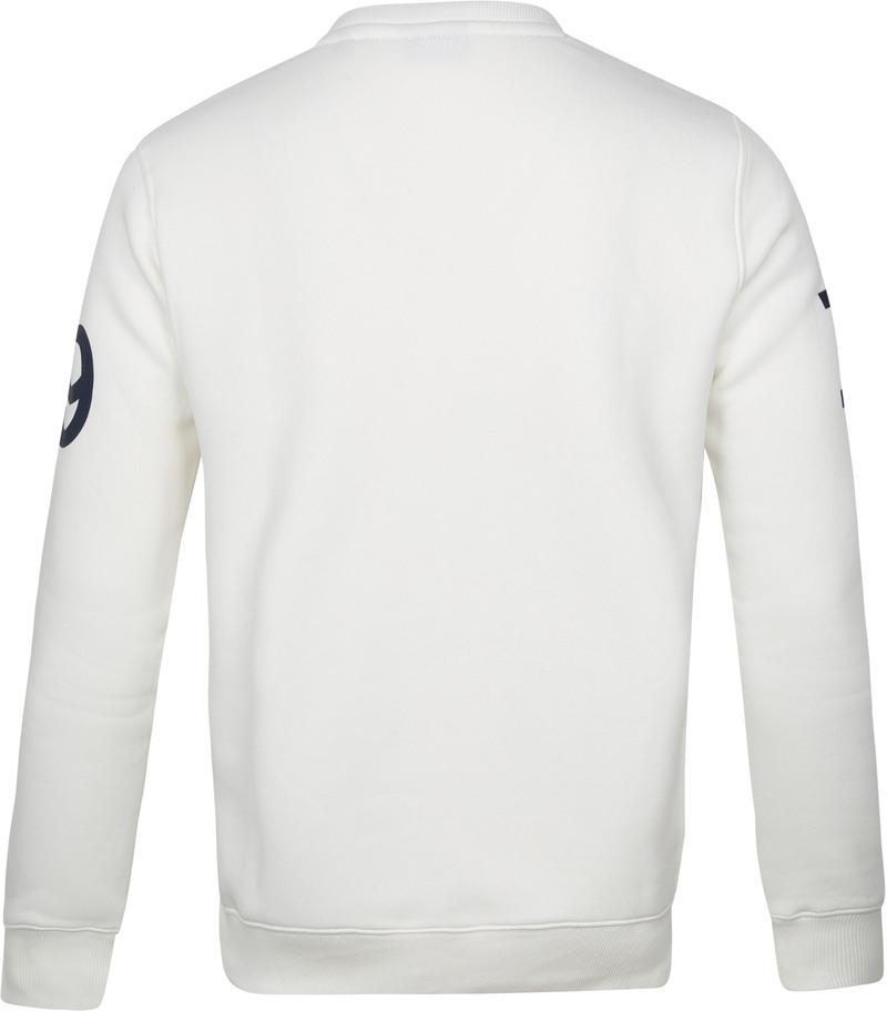 Gant Sweater Nautical Logo Wit