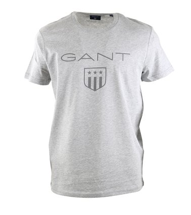 Gant T-shirt Giant Shield Grijs  online bestellen | Suitable
