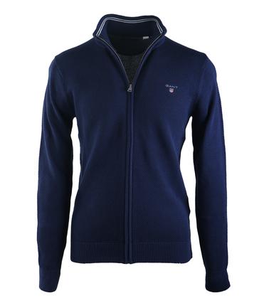Gant Vest Pique Donkerblauw  online bestellen   Suitable