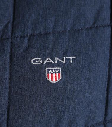 Detail Gant Winterjas Cloud Navy