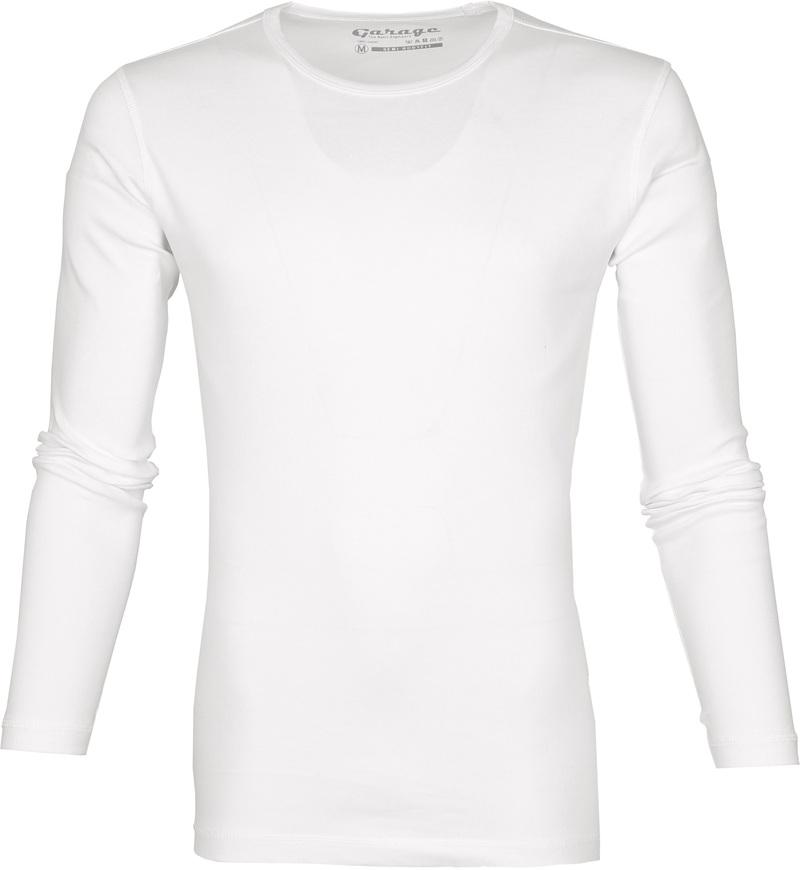 Garage Basic T-shirt Longsleeve Wit