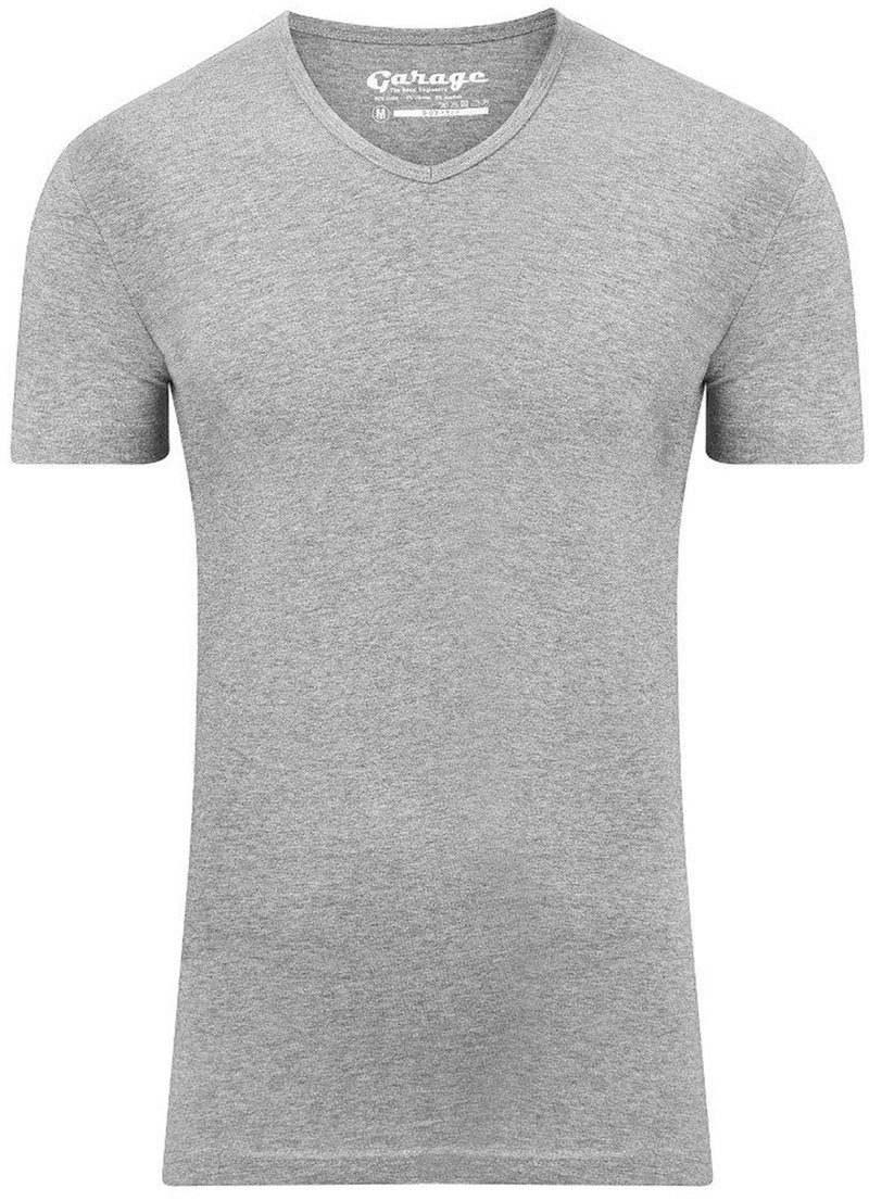 Garage Stretch Basic Grey V-Neck photo 0