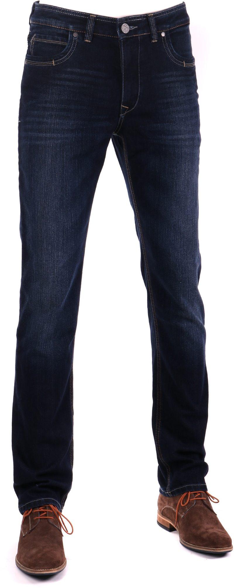 Gardeur Batu Modern-Fit Spijkerbroek Dark Blue foto 0