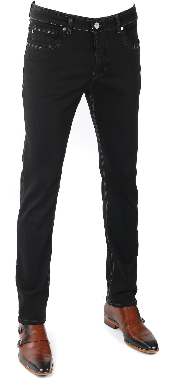 Gardeur Batu Pants Black photo 0