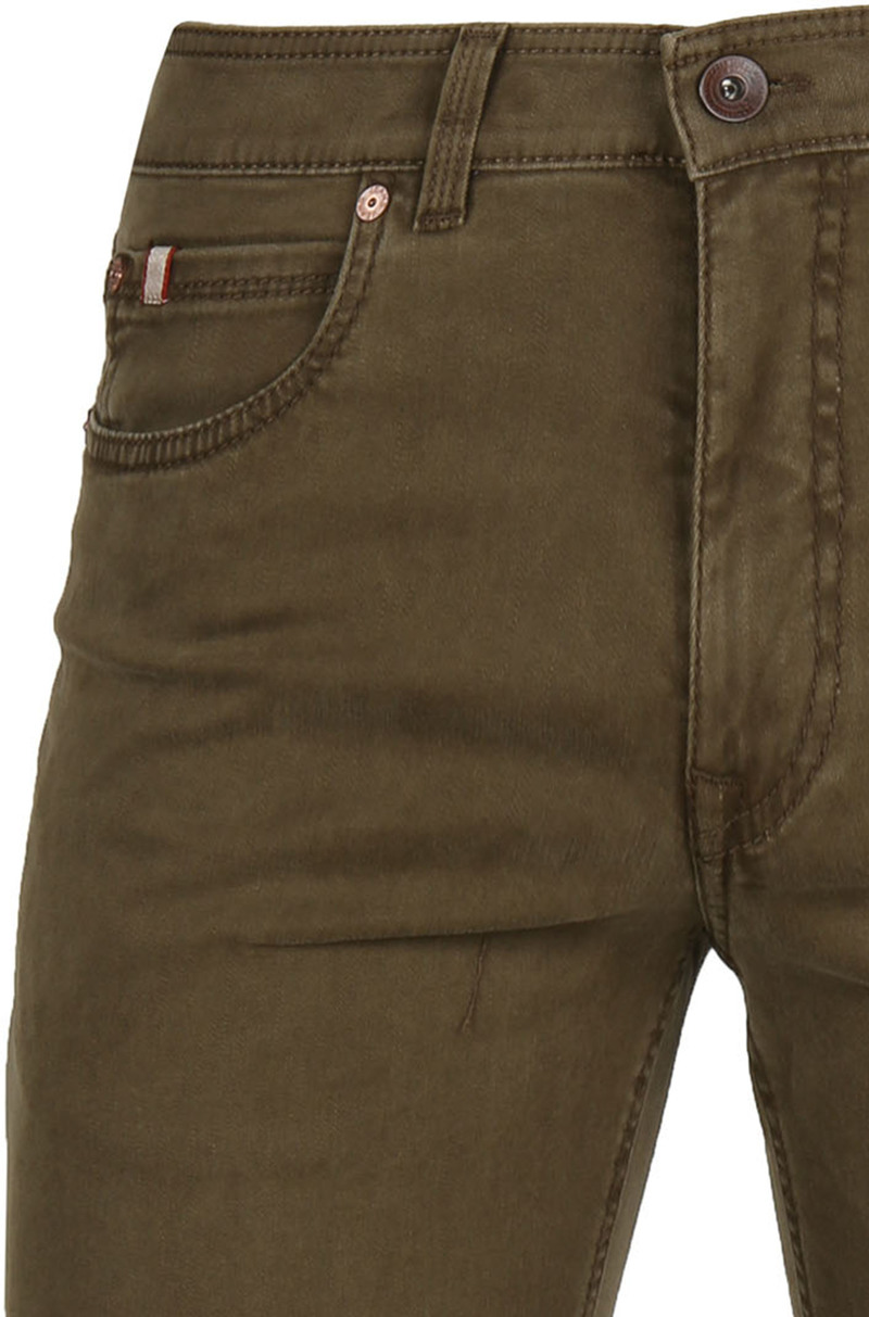 Gardeur Batu Pants Dark Green photo 1