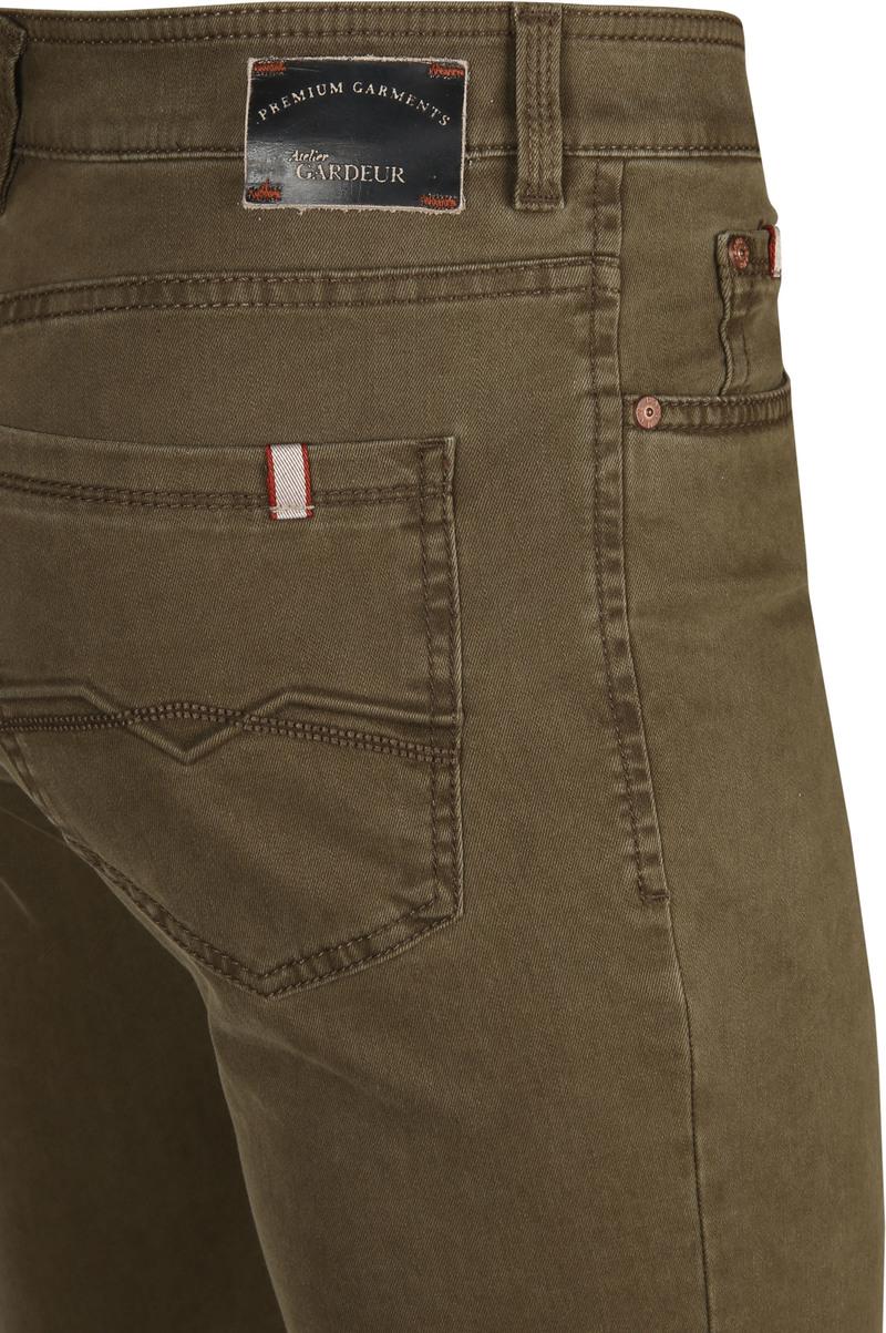 Gardeur Batu Pants Dark Green photo 2