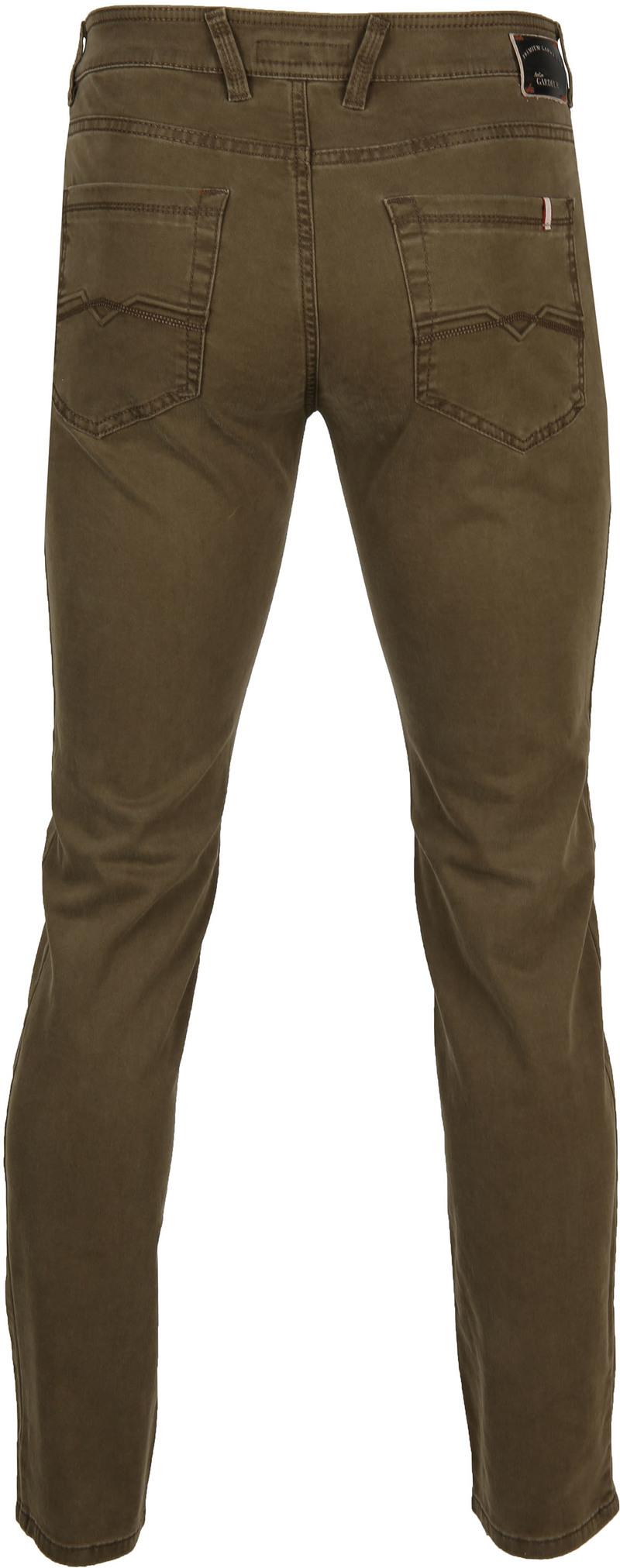 Gardeur Batu Pants Dark Green photo 4