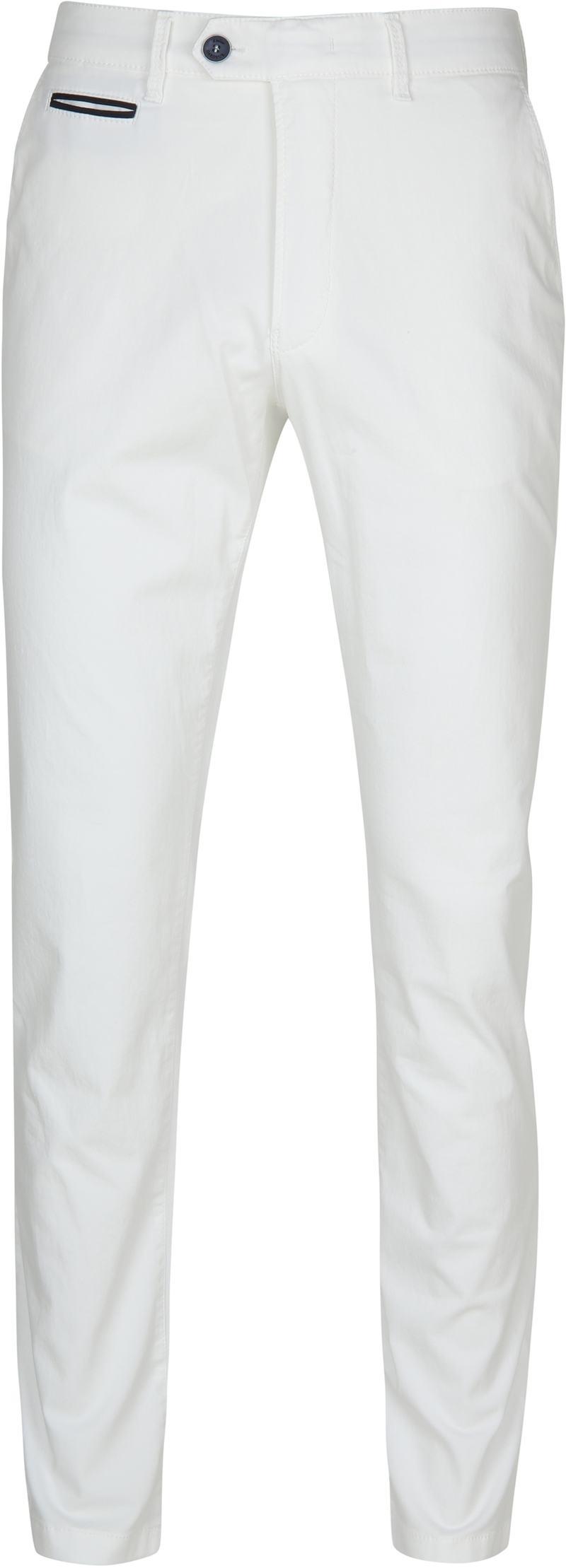 Gardeur Chino Weiß Benny 3 Foto 0